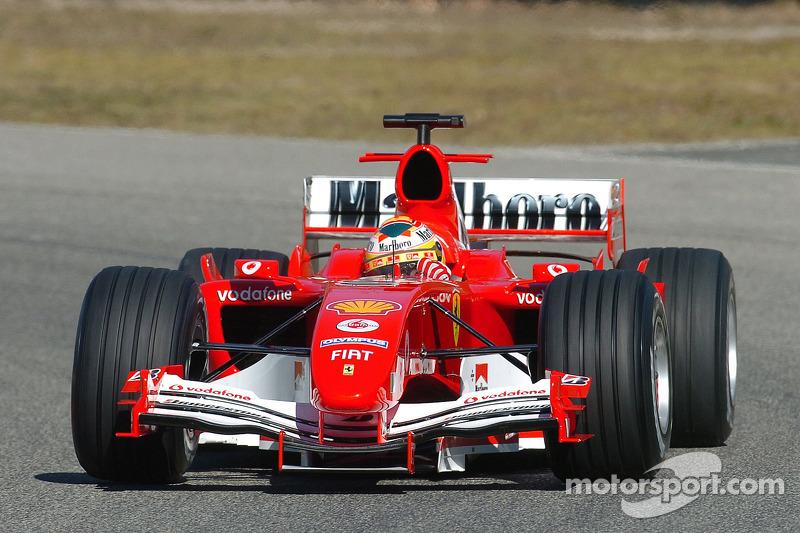 Luca Badoer, Ferrrari F2005