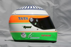 Helmet of Narain Karthikeyan