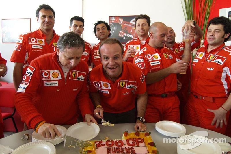Rubens Barrichello - 323 Grands Prix