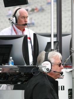 Roger Penske and Rick Mears