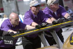 Doran Racing crew members