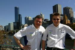 Toni Gardemeister and Jakke Honkanen visit Melbourne