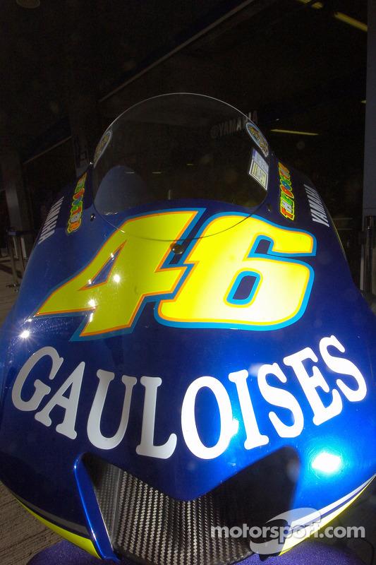 Yahama M1 de Valentino Rossi
