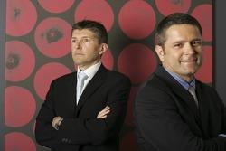 Gil de Ferran, BAR Honda Sporting Director, with Nick Fry, BAR Honda Chiel Executive Officer