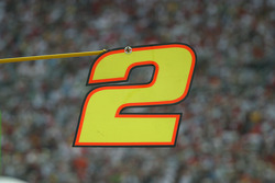Pit sign of Rusty Wallace