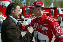 Jean Alesi and Michael Schumacher