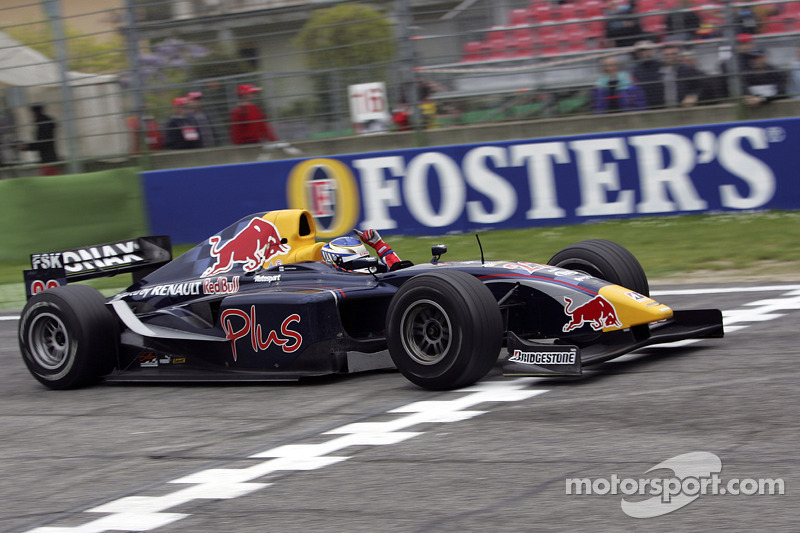 2005 - Premier vainqueur de l'Histoire du GP2