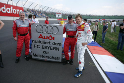 Audi congratulates the FC Bayern Munich for the German football championship