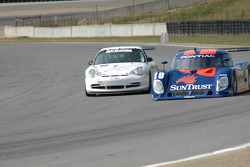 #10 SunTrust Racing Pontiac Riley: Wayne Taylor, Max Angelelli, #80 Synergy Racing Porsche GT3 Cup: Craig Stanton, David Murry
