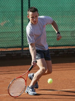 F1 Tennis Charity for the Northampton Intensive Care Unit at the Sanchez-Casal Open Tennis Academy: Christian Klien