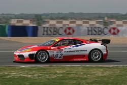 #82 Scuderia Ecosse Ferrari 360 Modena GTC: Tim Mullen, Chris Niarchos