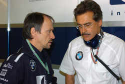 Heinz Paschen and Dr Mario Theissen