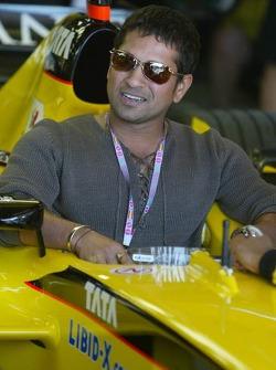 Cricket player Sachin Tendulkar