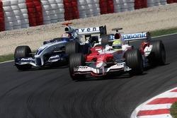 Ralf Schumacher and Mark Webber