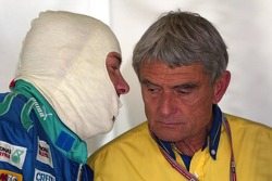 Jacques Villeneuve and Pierre Dupasquier