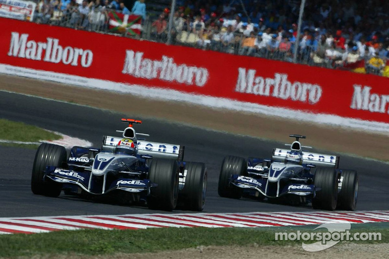 Mark Webber and Nick Heidfeld