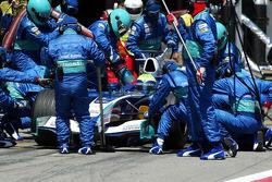 Pitstop for Felipe Massa