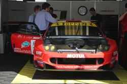 Ferrari 550 Maranello of Lamy and Gardel
