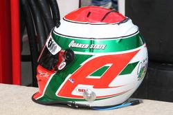 Adrian Fernandez's helmet