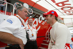 Guy Fréquelin and Sébastien Loeb