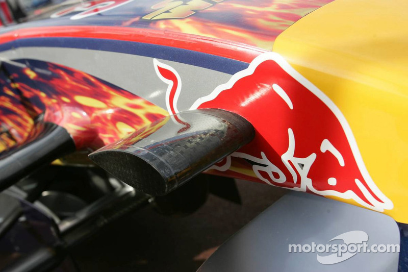 Star Wars en el auto de Red Bull Racing
