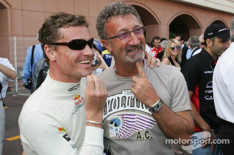 David Coulthard y Eddie Jordan