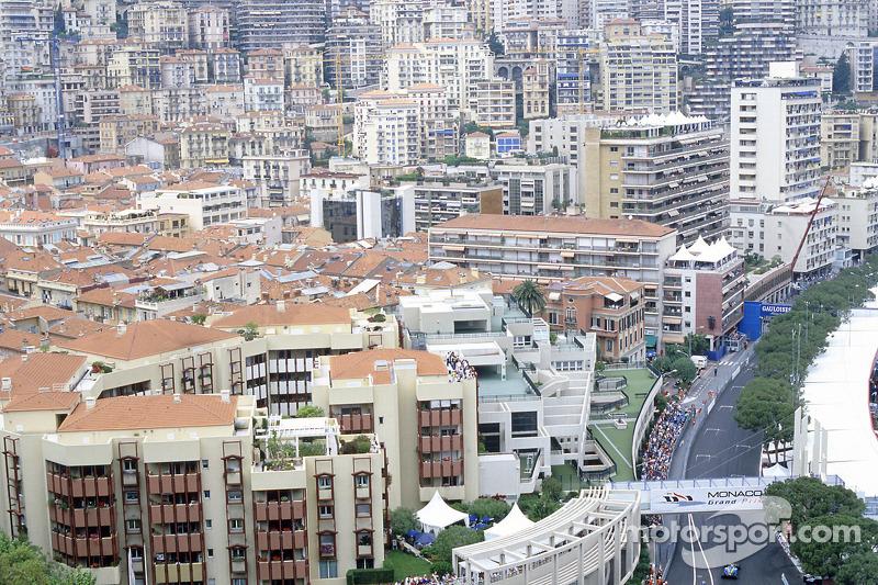 Practice action in scenic Monaco