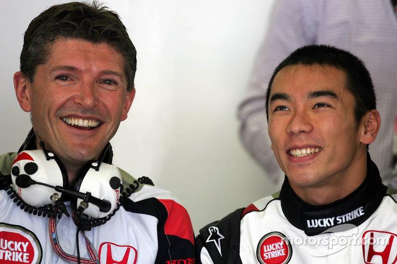 Nick Fry and Takuma Sato