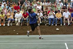 Tennis exhibition match: Elliott Sadler