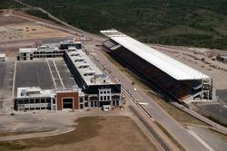Construction, yeni Istanbul Otodrom F1 circuit Istanbul, Turkey