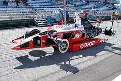 Cutaway Indy car