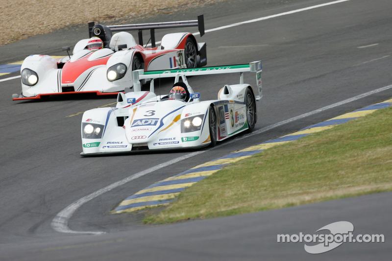 Champion Racing Audi R8 : JJ Lehto, Marco Werner; Noel Del Bello Courage CG : Ni Amorim, Romain Iannetta, Christophe Pillon