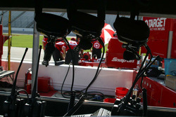 Team Target's headphones are ready for qualifying