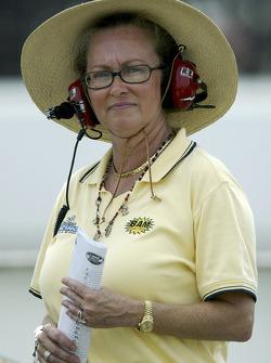 Owner of BAM Racing Beth Ann Morenthau