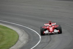 Michael Schumacher leads the 'field'