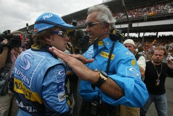 Fernando Alonso and Flavio Briatore