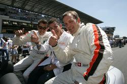 Romain Iannetta, Ni Amorim and Christophe Pillon
