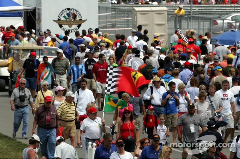 Fans en Indy