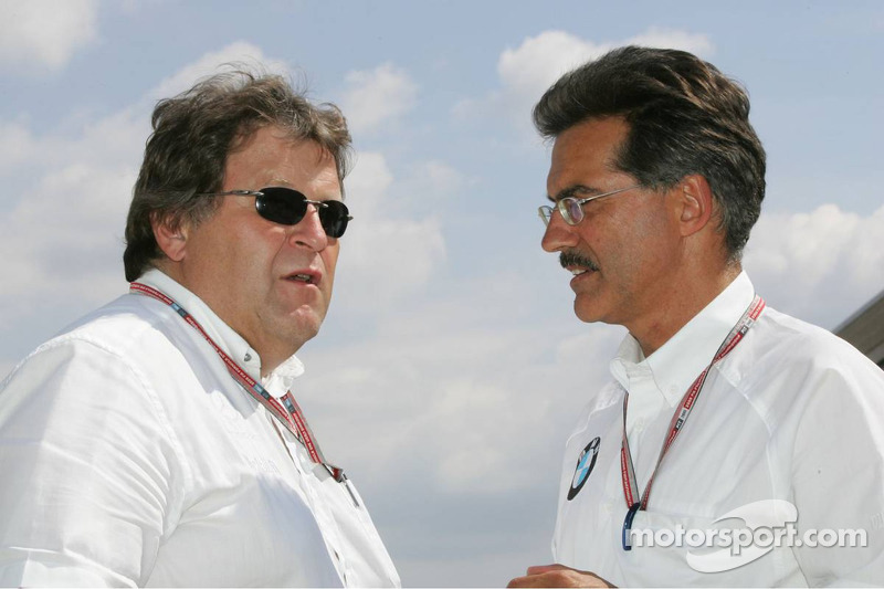 Norbert Haug y Dr Mario Theissen