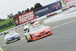Jeff Gordon leads the first lap