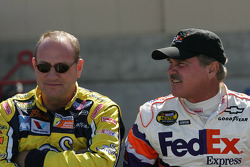 Ken Schrader and Terry Labonte