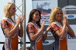The lovely Miss Grand Prix of Cleveland and her runner-up's