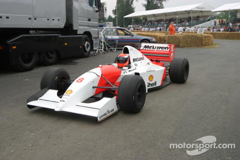1993 McLaren-Ford MP4/8, classe 10 : Chris Goodwin
