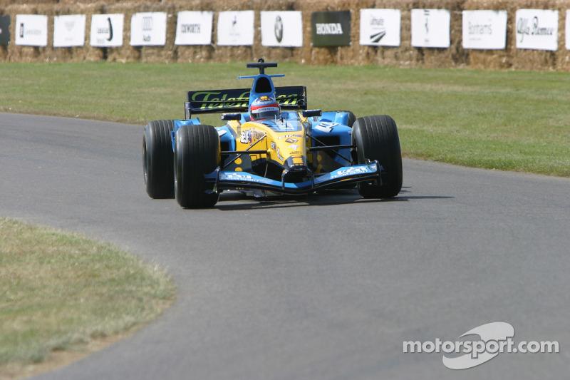 #124 Renault R24 de 2004 : Fernando Alonso