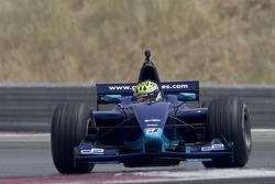 Ben Collins tests the GP2 car for Autosport Magazine