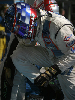 Pitstop for #37 Paul Belmondo Racing Courage Ford: driver change between Paul Belmondo and Rick Sutherland