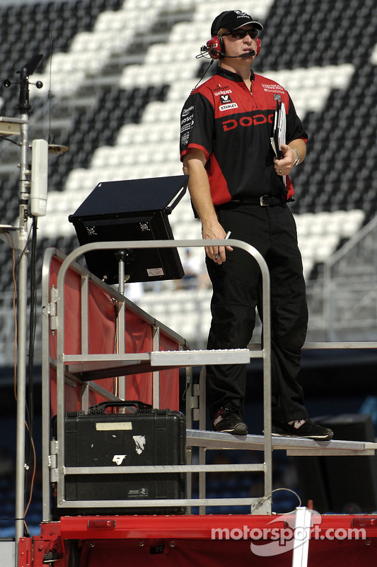 Tommy Baldwin Jr., crew chief for Kasey Kahne