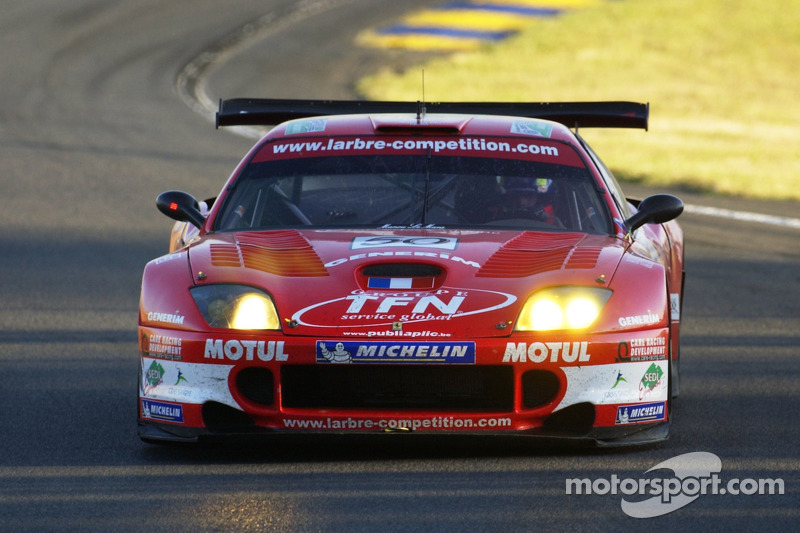 #50 Larbre Competition Ferrari 550 Maranello: Patrice Goueslard, Olivier Dupard, Vincent Vosse