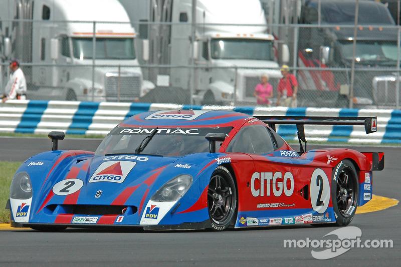La CITGO - Howard - Boss Motorsports Pontiac Crawford N°2 (Milka Duno, Jan Lammers)