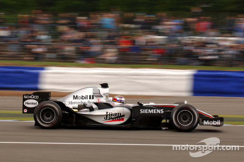 2005: Juan Pablo Montoya, McLaren-Mercedes MP4-20